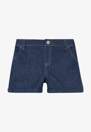 EMBROIDERED SPOT  - Szorty jeansowe - denim