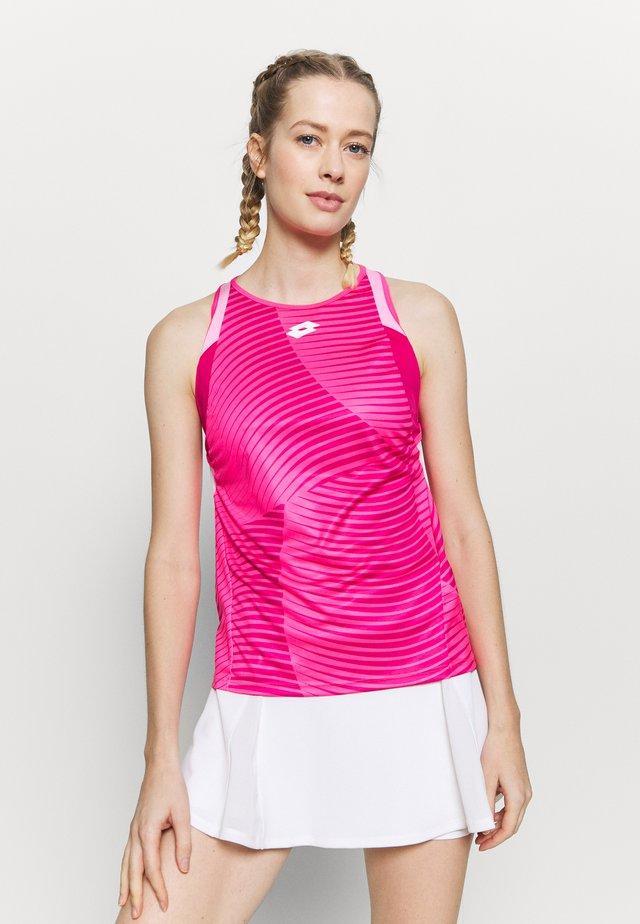 TOP TEN TANK - Tekninen urheilupaita - vivid fuchsia/glamour pink