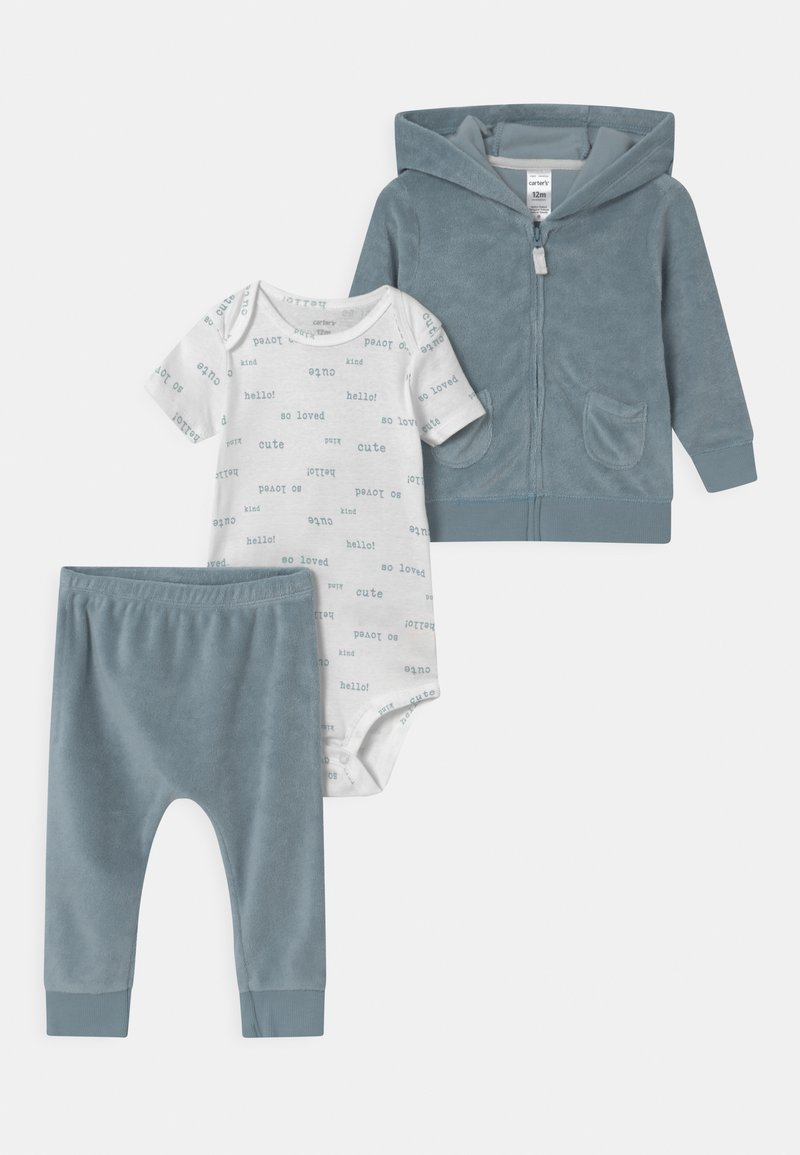Carter's - CARDI SET - Tracksuit - blue