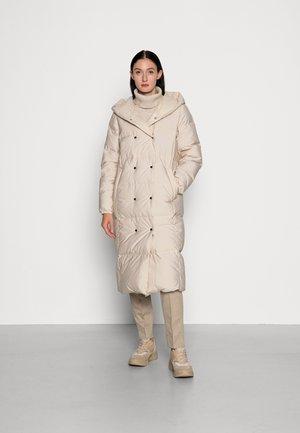 Down coat - beige