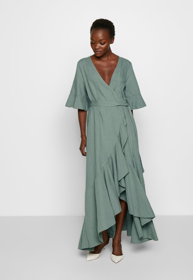 YELLA - Maxi dress - dusty pine