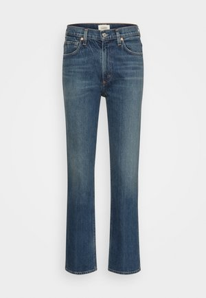 DAPHNE - Straight leg jeans - port of call/dark indigo