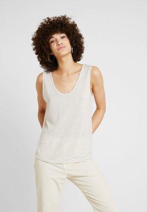 STRIPE - Top - antique white