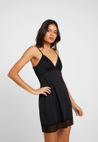 Cotton On Body - SLINKY NIGHTIE - Nightie - black - 0