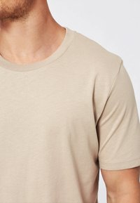 Selected Homme - SHDTHEPERFECT - T-paita - sand - 3