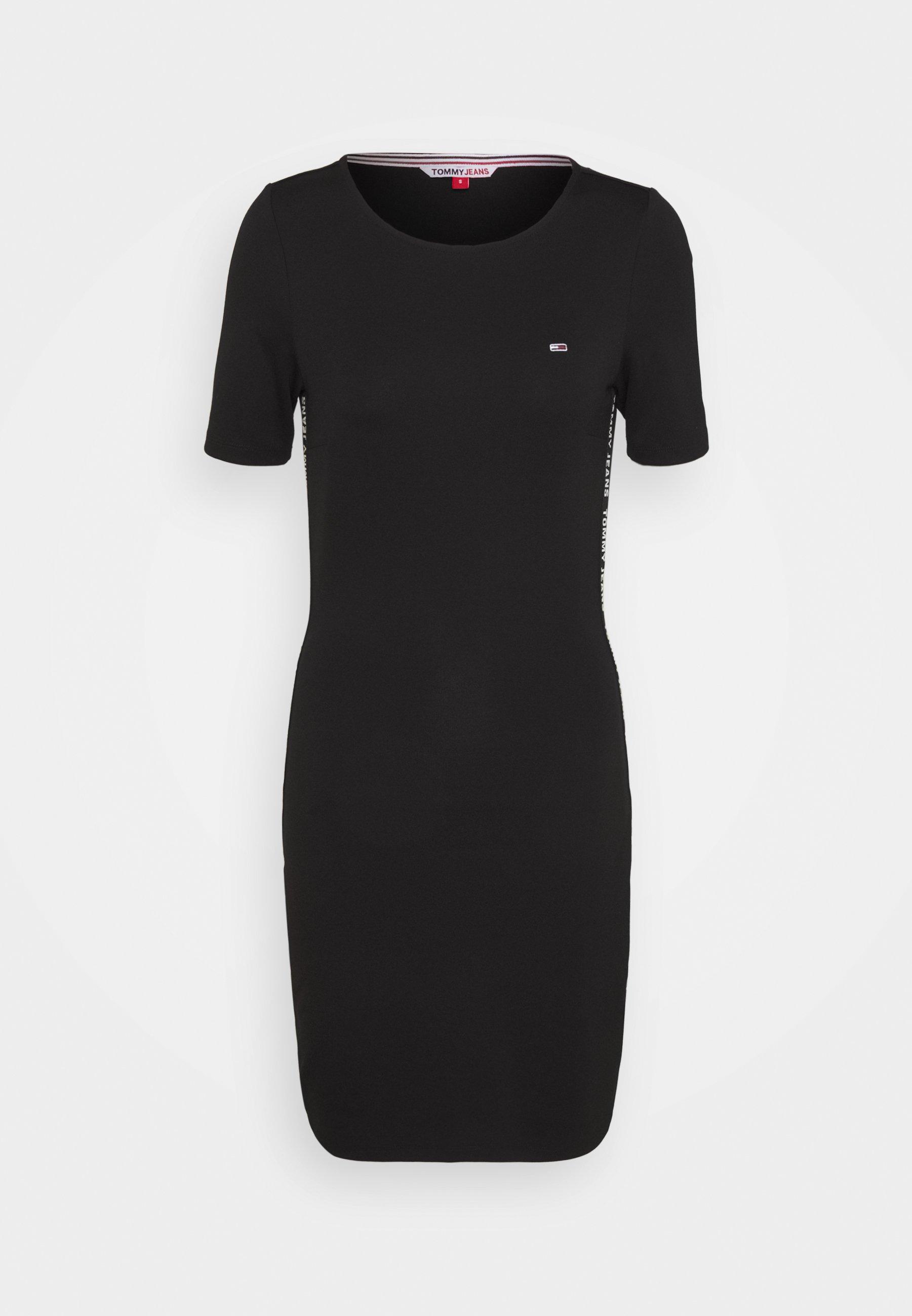 Women BODYCON TAPE DRESS - Jersey dress