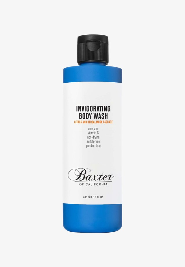 INVIGORATING BODY WASH 236ML - Docciaschiuma - blue citrus and herbal musk