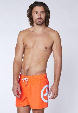 Badeshorts - shock orange