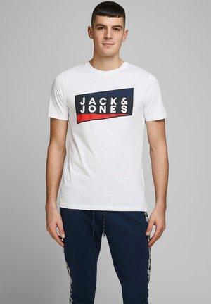 JCOSHAUN  - Print T-shirt - white