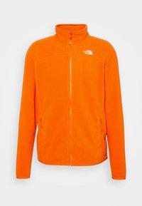 M 100 GLACIER FULL ZIP - EU - Fleece jacket - flame