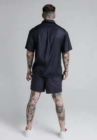 SIKSILK - MONOGRAM RESORT SHIRT - Shirt - black - 2