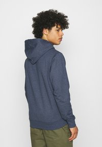 Tommy Jeans - STRAIGHT LOGO HOODIE - Mikina - blue - 2