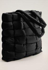 Mango - EDREDON - Shopping bags - noir - 1