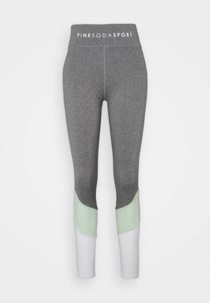 SPLICE - Leggings - grindle/green/white