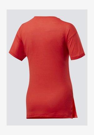 WORKOUT READY ACTIVCHILL T-SHIRT - Camiseta básica - red