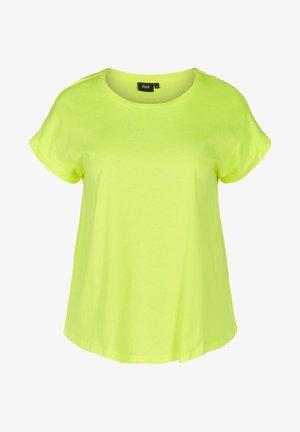 Basic T-shirt - neon yellow