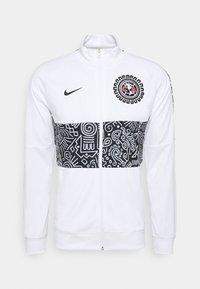 Nike Performance - CLUB AMERICA ANTHEM - Träningsjacka - white/black - 6