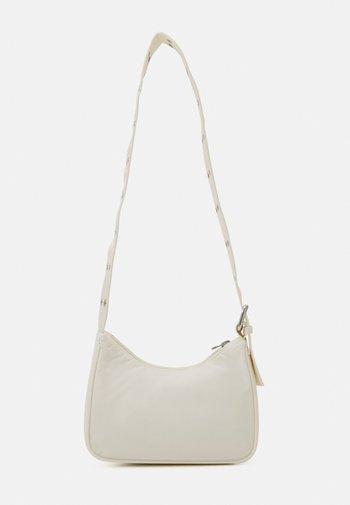 SPACE MINI HANDBAG - Across body bag - off white
