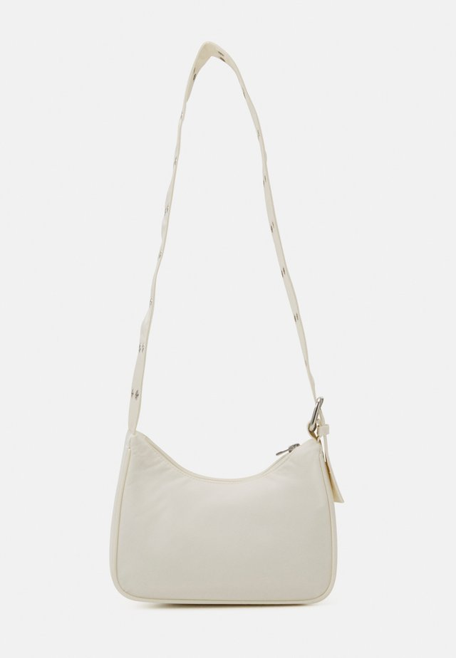 SPACE MINI  - Across body bag - off white