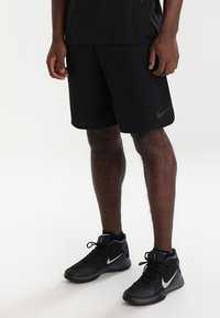 Nike Performance - DRY SHORT - Pantalón corto de deporte - black/dark grey - 0