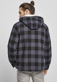 Brandit - LUMBER - Light jacket - black/grey - 2