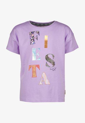 SENNA  - Print T-shirt - bright lavender