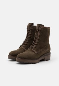 Tamaris Pure Relax - BOOTS  - Platform ankle boots - dark olive - 2