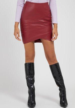 ROSALBA  - Mini skirt - rot