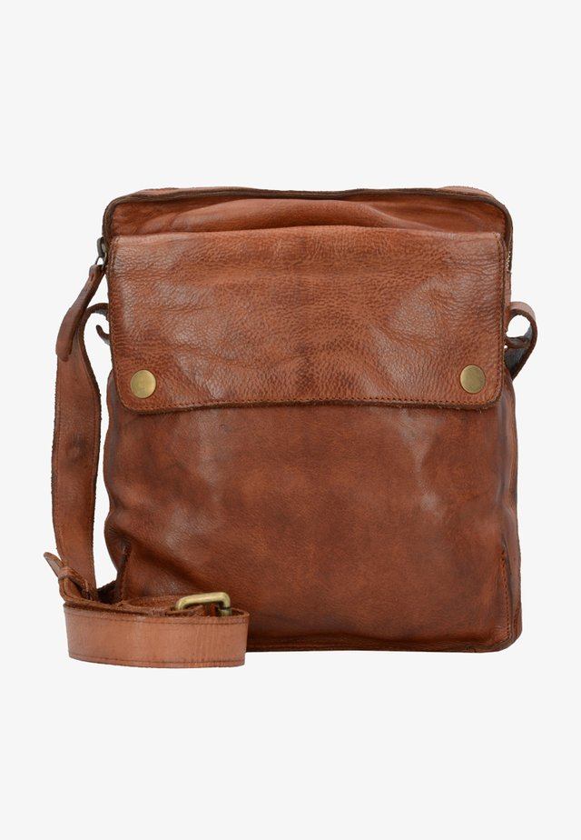 SADDLE  - Across body bag - cognac