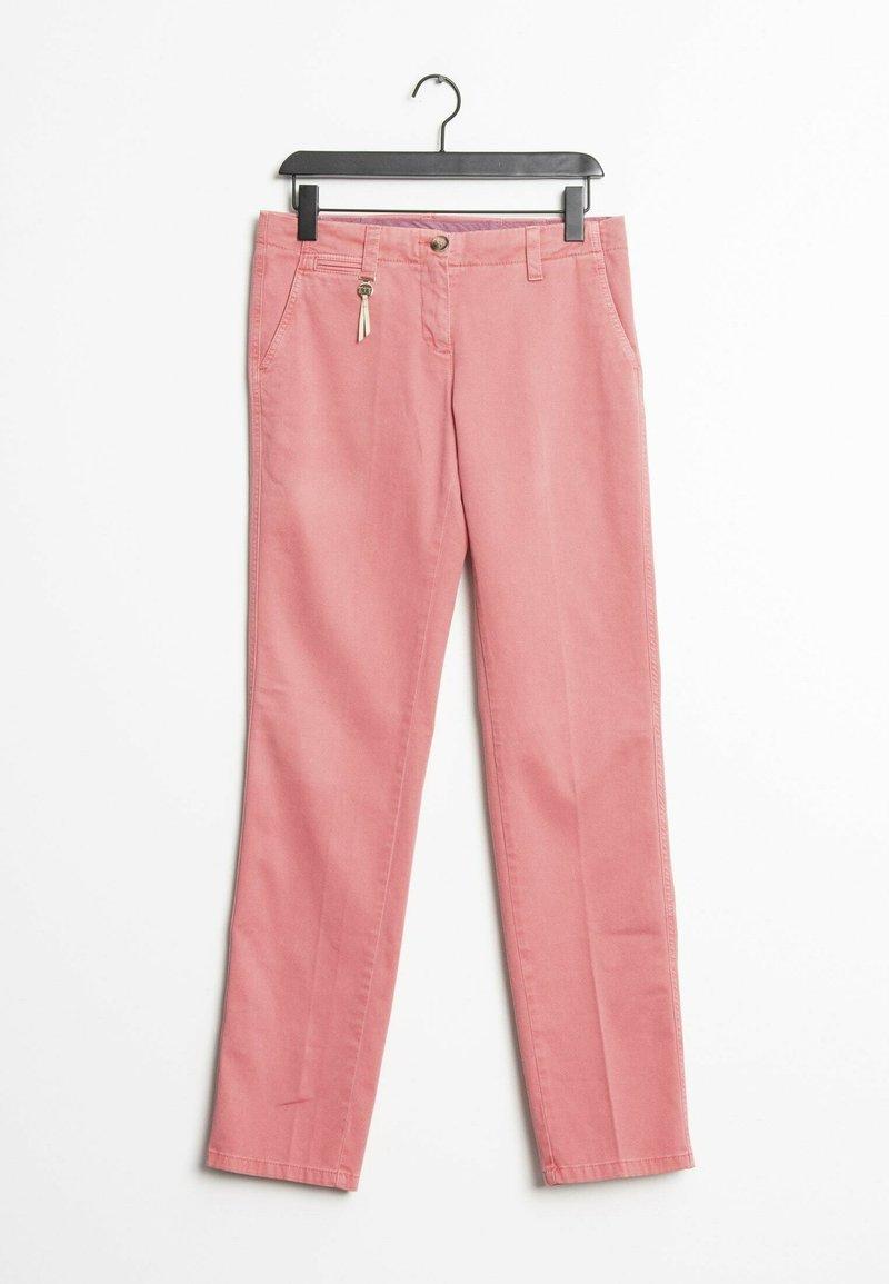 Trussardi Jeans - Straight leg jeans - pink