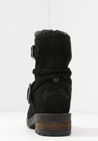 Superdry - HURBIS - Winter boots - black