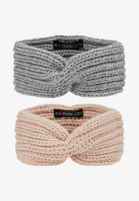 Even&Odd - 2 PACK - Ørevarmere - rose/grey - 4