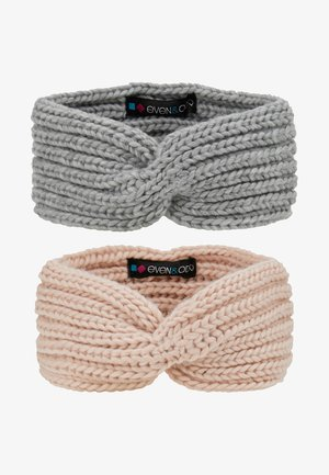 2 PACK - Ørevarmere - rose/grey