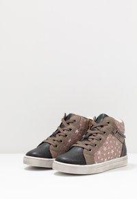 Friboo - Sneakersy wysokie - dark gray - 3