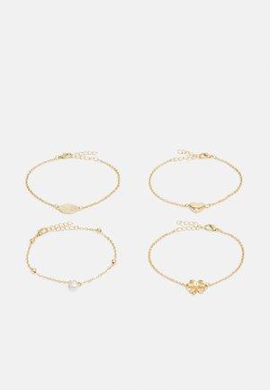 ONLCASY BRACELET 4 PACK - Bracelet - gold-coloured