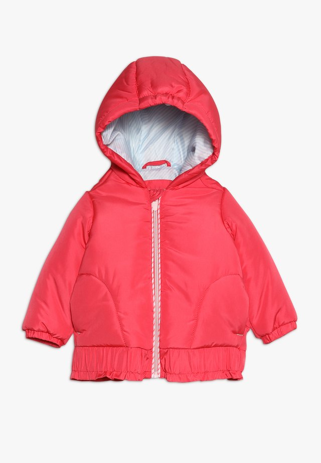 OUTDOOR JACKET BABY - Winter jacket - strawberry