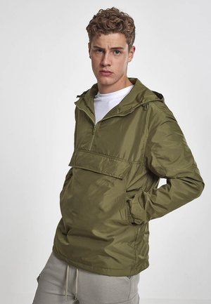 BASIC - Windbreaker - olive