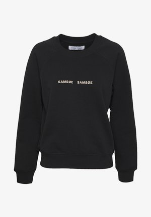 BARLETTA CREW NECK - Sweatshirt - black
