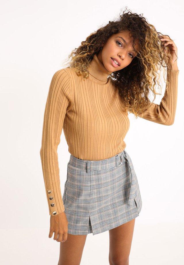 Pullover - sandfarben