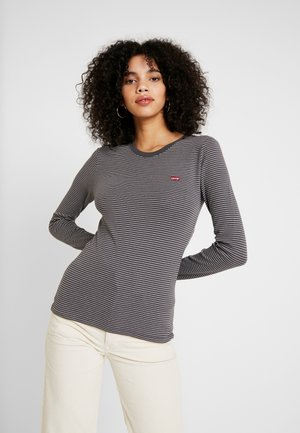 LS BABY TEE - Long sleeved top - agnes/forged iron