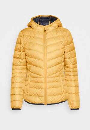 LIGHT PADDED JACKET - Jas - indian spice yellow