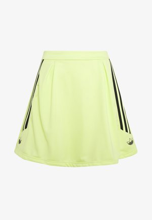 A-line skirt - semi frozen yellow