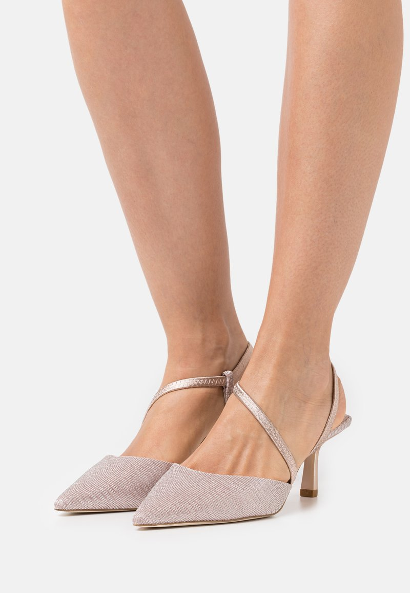 Dune London - COLOMBIA - Classic heels - rose gold