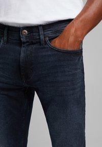 edc by Esprit - Slim fit jeans - blue black - 4