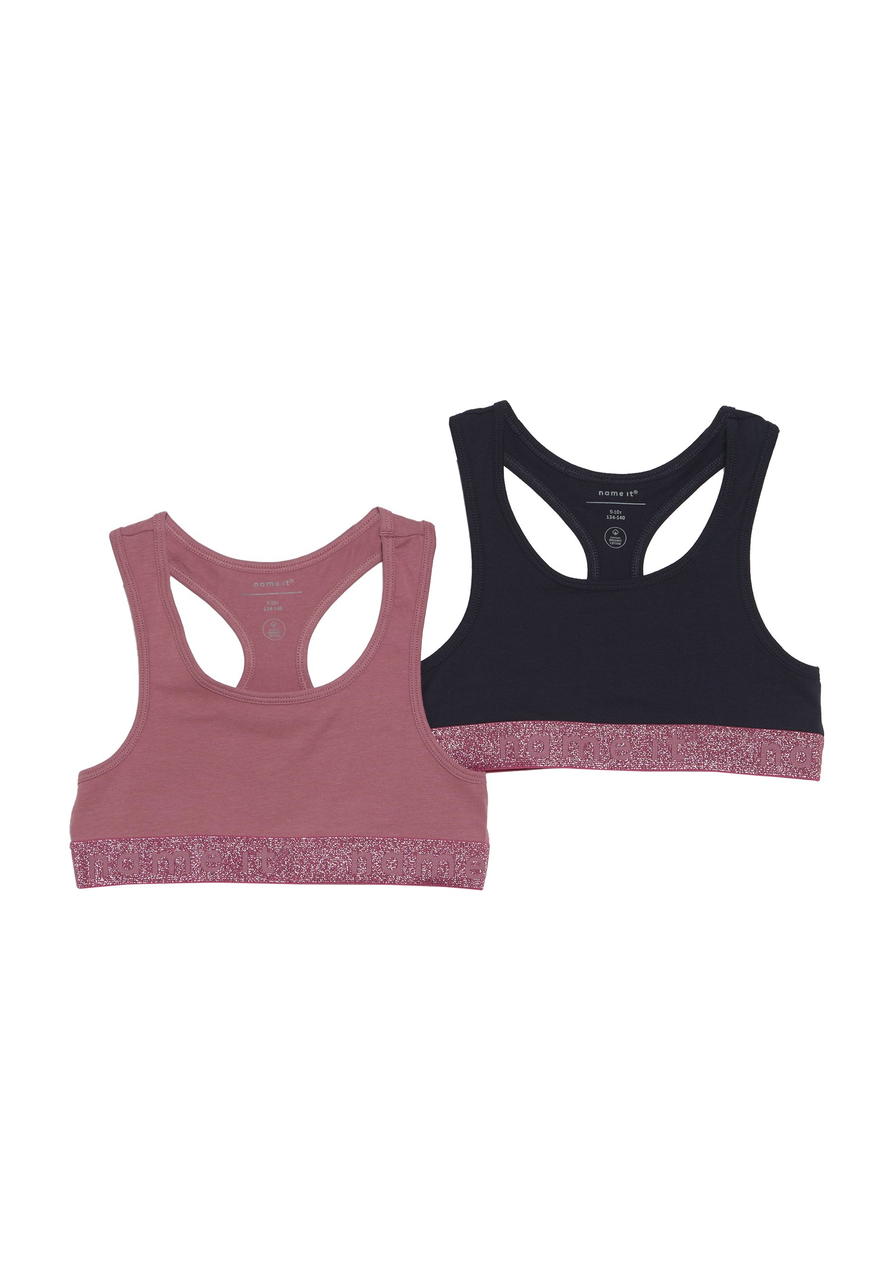 Name It Nkfshort 2 Pack - Bustier Heather Rose