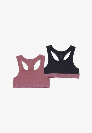 NKFSHORT 2 PACK - Top - heather rose
