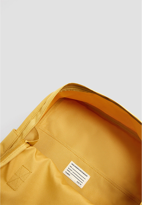 Pull&bear Bunter Rucksack 14123540 - Plecak Mustard Yellow