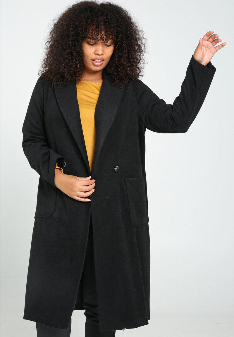 Paprika - Classic coat - black