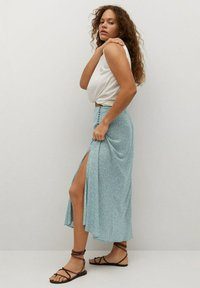 Violeta by Mango - A-line skirt - wassergrün - 4