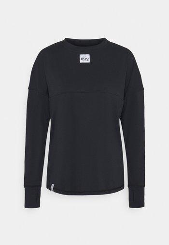 VENTURE  - Maglietta a manica lunga - black